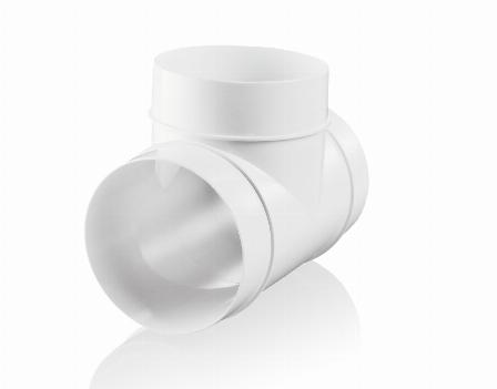 Apvalūs ventiliacijos vamzdžiai ir detalės