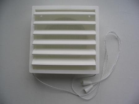 Sieninės ventiliacijos grotelės