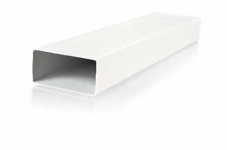 Stačiakampiai ventiliacijos vamzdžiai ir detalės